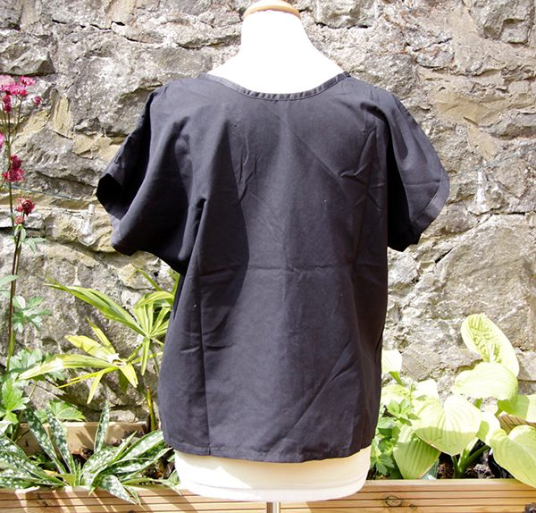 caoba top black back