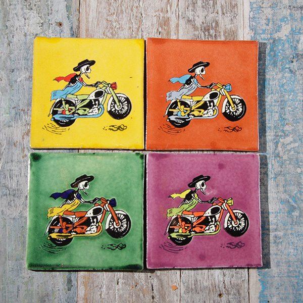 caoba coasters bikers 1