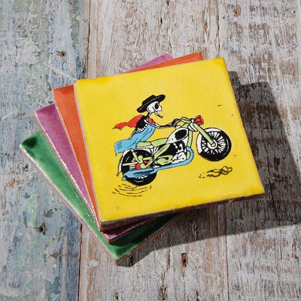 caoba coasters bikers 2