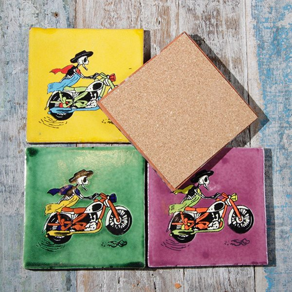 caoba coasters bikers 3
