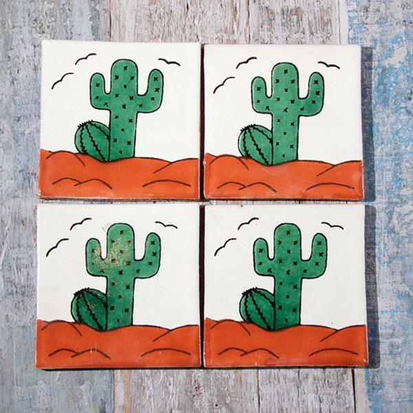 caoba coasters cactus 1