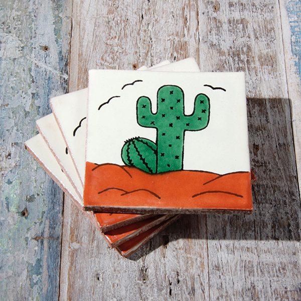 caoba coasters cactus 2