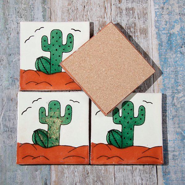 caoba coasters cactus 3
