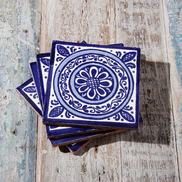 caoba coasters medallon 2