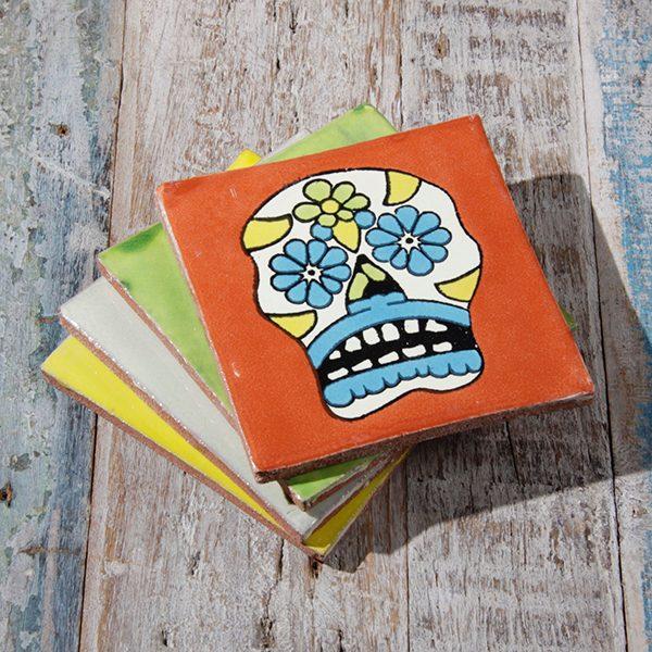 caoba coasters skulls A2