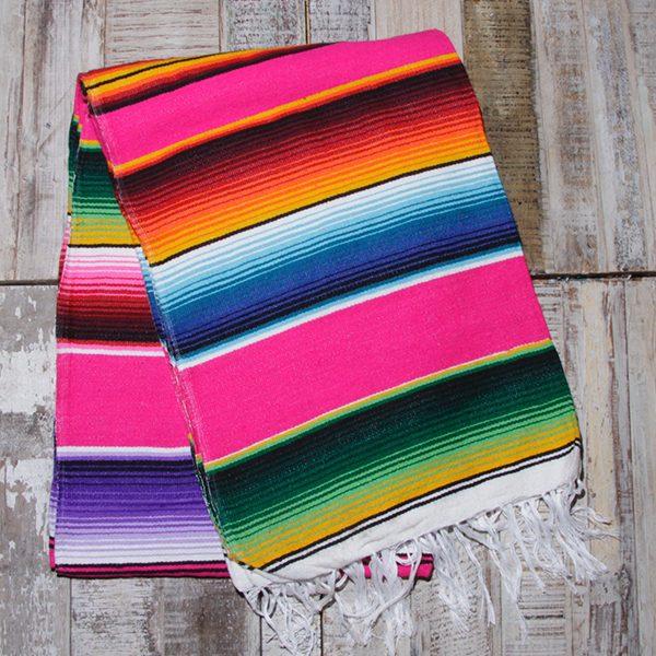 caoba blanket pink