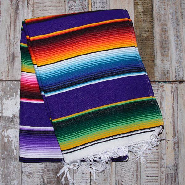 caoba blanket purple