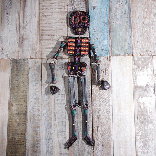 caoba skeleton black large