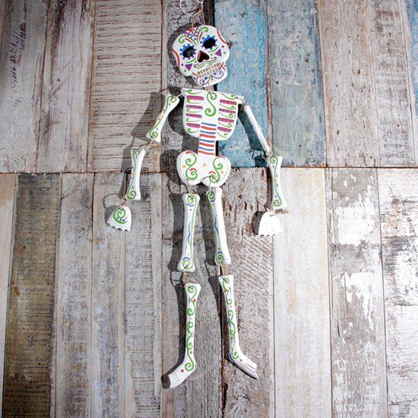 caoba skeleton large white