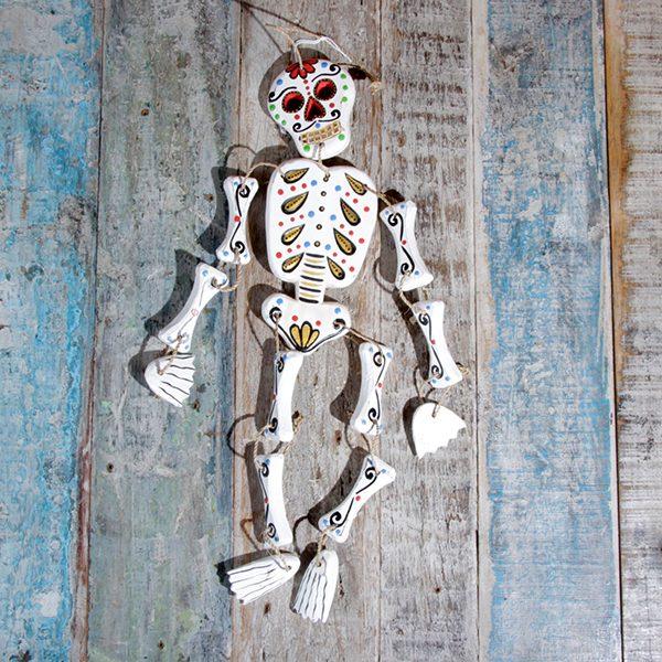 caoba skeleton white small