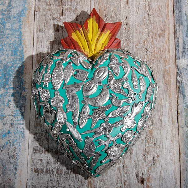 heart large V