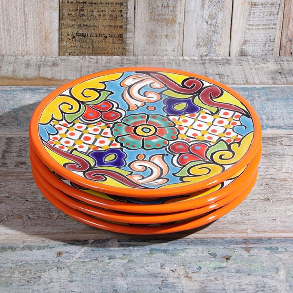 caoba tal plates orange
