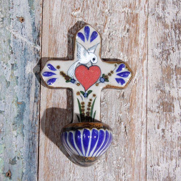 caoba cross heart