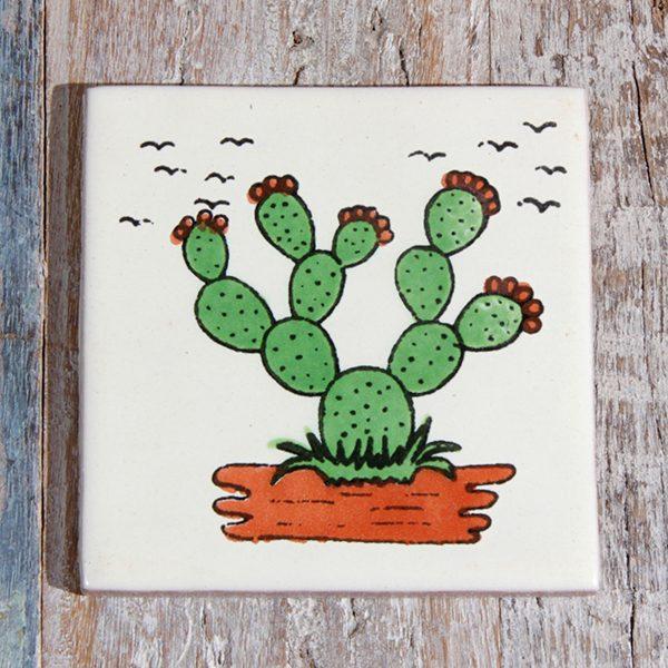caoba tile cactus agave