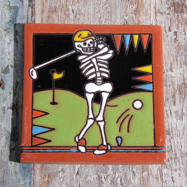 caoba tile relief golf