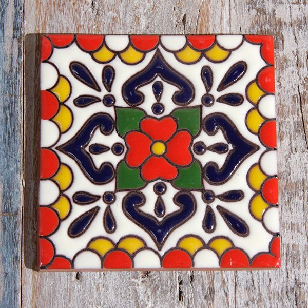 caoba tile relief lluvia red