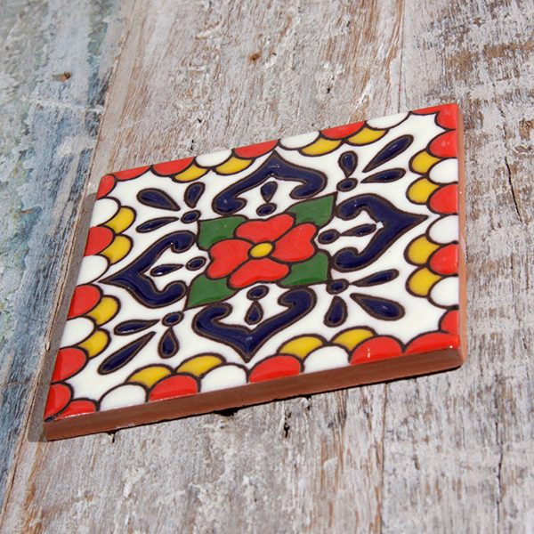 caoba tile relief lluvia red1