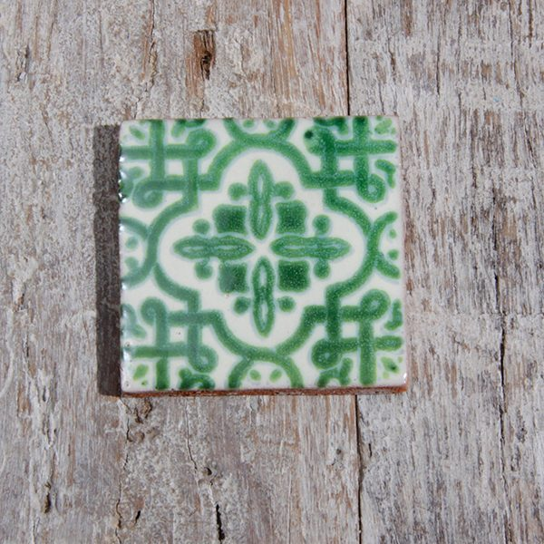 caoba tile small palenque verde