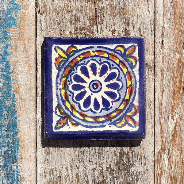 caoba tile small cuerda azul