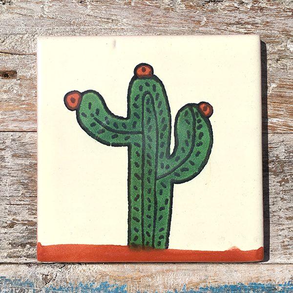 caoba tile cactus