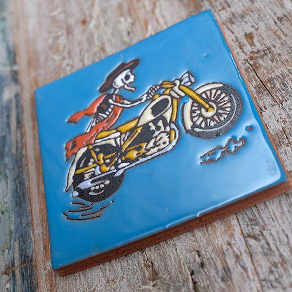 caoba relief biker blue 1