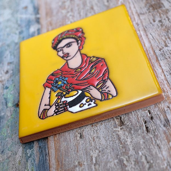 caoba relief frida yellow 1