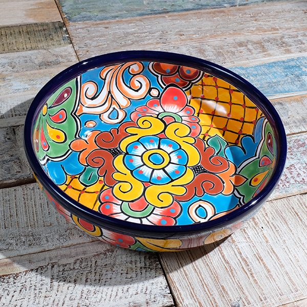 caoba round dish A