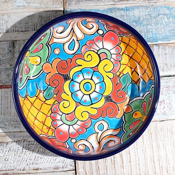 caoba round dish A1