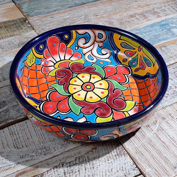 caoba round dish B