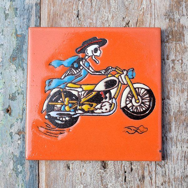 caoba biker orange